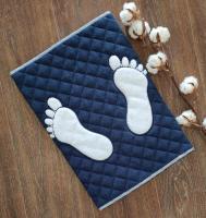 Полотенце-коврик для ног Maison D`or Doormat 50x80 Navy Blue