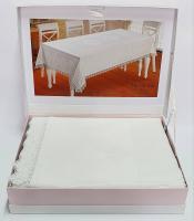 Скатерть Maison D'or 160х270 Natalee White