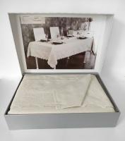 Скатерть Set Maison D'or 160х320+12psc Tiana T.Cloth Silver