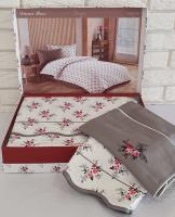 Постельное белье Maison D'or сатин 160х220 Diana Rose Antracite