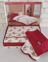 Постельное белье Maison D'or сатин 160х220 Diana Rose Red