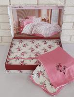 Постільна білизна Maison D'or сатин 200х220 Diana Rose Rose