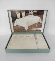 Скатерть Велюр Maison Royale 140x180 Mina Cream
