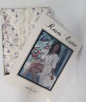 Халат женский Maison D'or Roses Estee Dark Lilac M