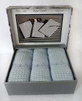 Полотенца Maison D'or 3шт Brise-Ape 40x60 L.Blue