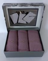 Полотенца Maison D'or 3шт Brise-Ape 40x60 Dark Lilac